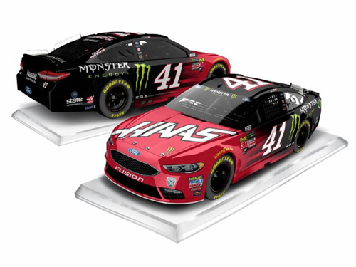 2018 Kurt Busch #41 Haas / Monster RCCA Elite 1:24 HOTO Diecast Car