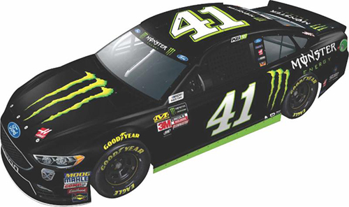 2018 Kurt Busch #41 Monster Energy  RCCA Elite 1:24 HOTO Diecast Car