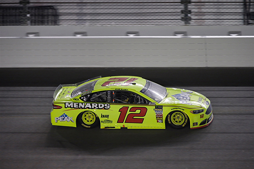 2018 Ryan Blaney #12 Menards/ Peak Duel #1 Race Win RCCA Elite 1:24 Diecast Car