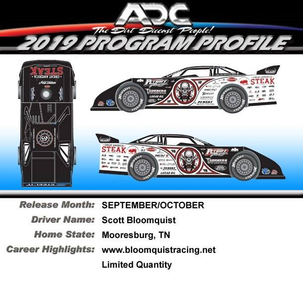 ADC Dirt Late Model Diecast Cars - GFRracing com