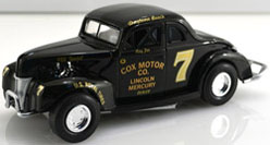 1940 Ray Fox  #7 Cox Motors Fox Special 1:24 Diecast Car