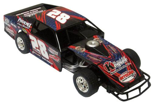 ADC RED SERIES 2017 ANDY BRYANT Modified 1/64 Diecast Car