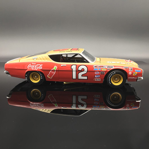 Bobby Allison #12 Coca Cola. 1969 Mercury Cyclone 1:24  Diecast Car.