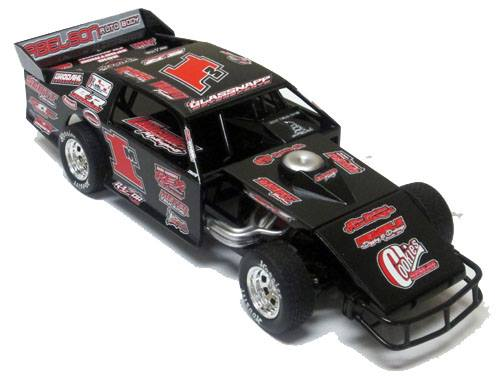 ADC RED SERIES 2017 BRETT MEYER Modified 1/64 Diecast Car.