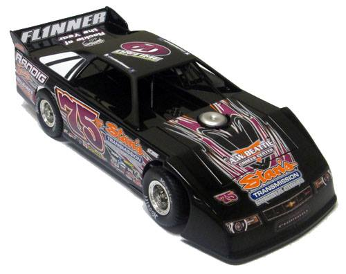 ADC Red Series. 2017 COLTIN FLINNER #75 Dirt Late Model 1/64 Diecast Car. Available to Preorder UNTIL JAN 30TH 2018