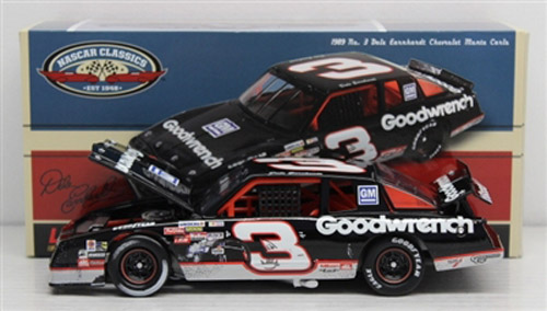 2012 Dale Earnhardt Sr #3 1989 North Wilkesboro Win Aero Coupe 1/24 Diecast Car.