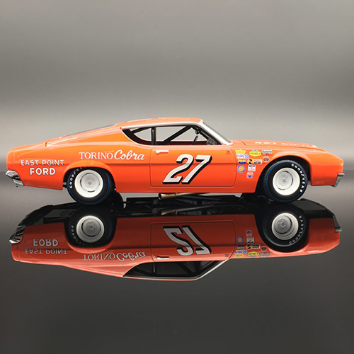 "Donnie Allison #27 East Point  ""AUTOGRAPHED"" 1969 Ford Torino 1:24  Diecast Car."