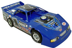2012 JOSH RICHARDS #1 1/24 Dirt Late Model Diecast Car