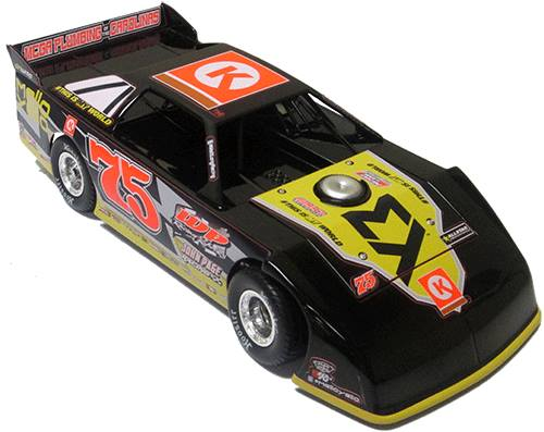 ADC Red Series MATT LONG #75 1/64 Late Model Diecast Car FROM NC