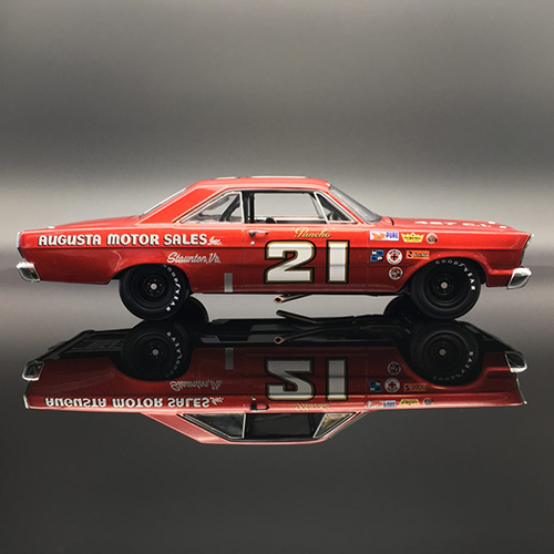 "1965 Marvin Panch #21 Augusta Motor Sales "" AUTOGRAPHED"" Ford Galaxie University of Racing Nascar Diecast Car"