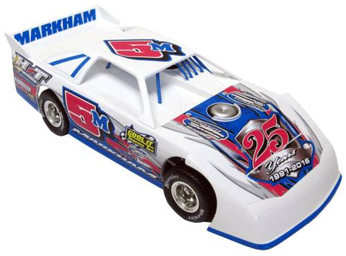ADC RED SERIES 2016 RYAN MARKHAM  Late Model 1/24 Diecast Car