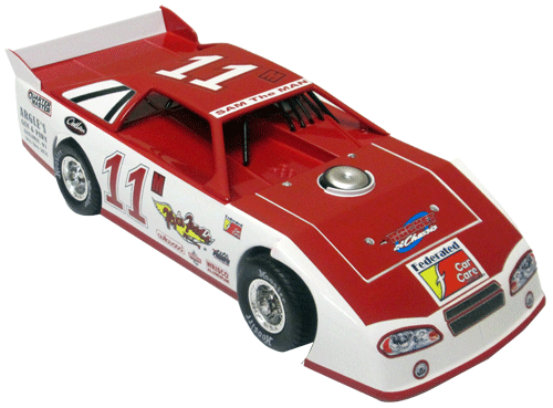 ADC Red Series. 2017 CHRIS MOWERY #11 Dirt Late Model 1/64 Diecast Car. Available to preorder UNTIL OCT 30TH 2017