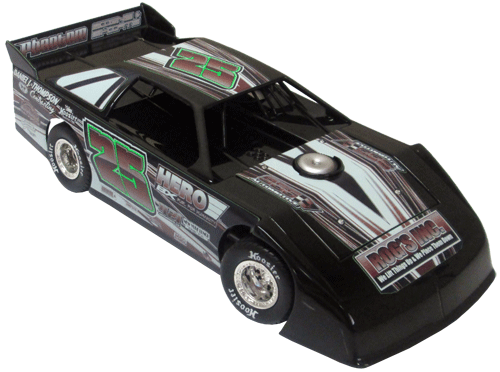 ADC Red Series. 2017 CHRIS PETERSON #25 Dirt Late Model 1/64 Diecast Car. Available to preorder UNTIL OCT 30TH 2017