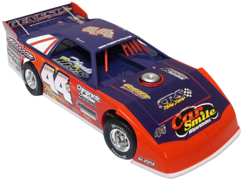 ADC Red Series. 2017 DAVE HESS #44S Dirt Late Model 1/64 Diecast Car. Available to preorder UNTIL OCT 30TH 2017
