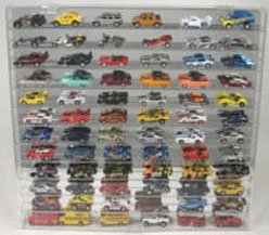 Diecast 72 Car 1/64 Display Case