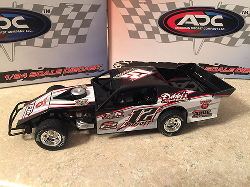 ADC RED SERIES 2017 Matt Parrott - Ill Driver Modified 1/64 Diecast Car. Available to preorder UNTIL OCT 30TH 2017